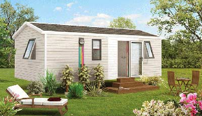 Mobil Home vers Anglet