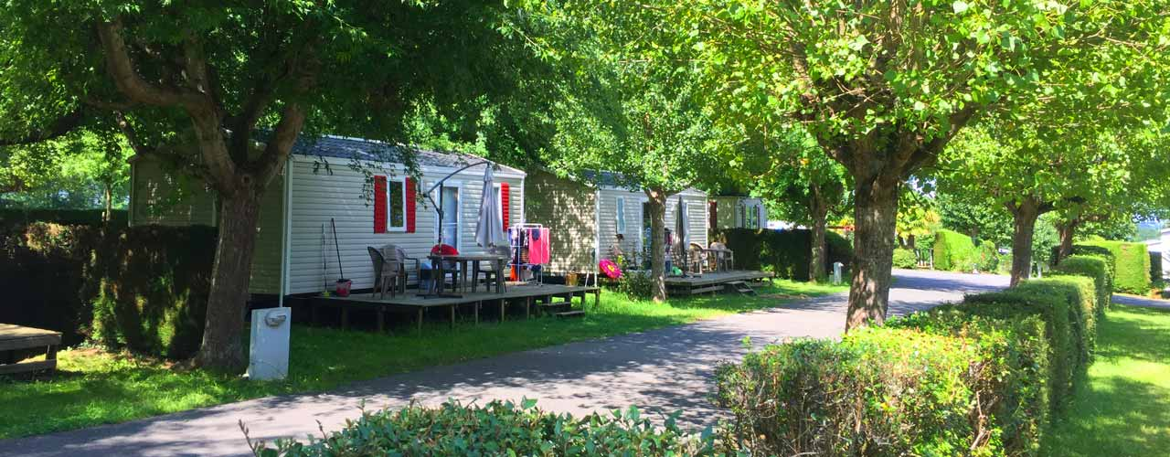 Camping pays basque - Location mobile-home camping