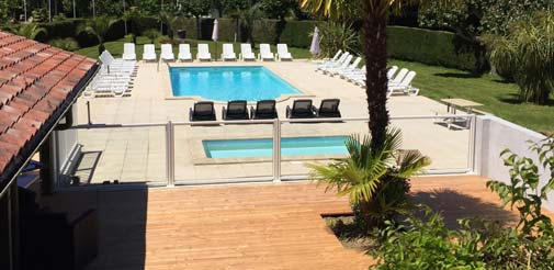 Camping pays basque - Piscine camping